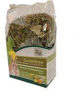 JR Farm Törpenyúl Gabonamentes Herbs 400gr