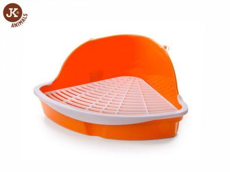 JK-Animals rácsos wc/alomtálca narancs