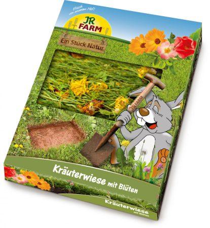 JR FARM egy darab gyógynövény rét virággal
