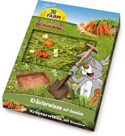 JR FARM egy darab természetes gyógyfüves rét zöldségekkel