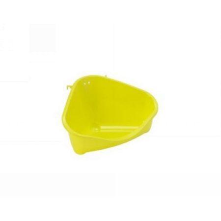 MODERNA sarok WC/ alomtálca M méret/ citromsárga