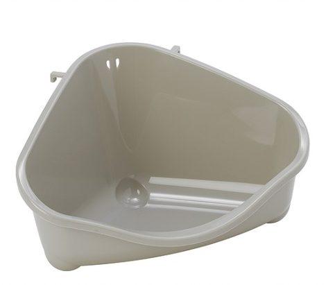 Moderna sarok WC large/homokszín