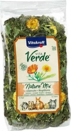 Vitakraft Vita Verde Nature Mix gyermekláncfű körömvirággal 100g