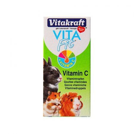 Vitakraft Vita Fit  C vitamin rágcsálóknak 10 ml