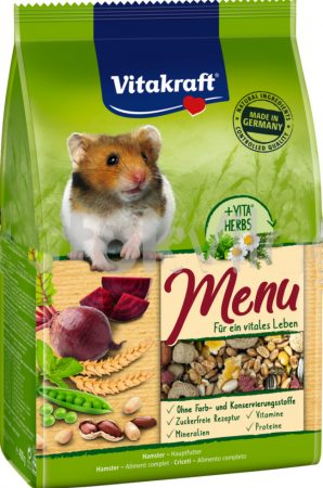 Vitakraft Premium Menü Vital aranyhörcsög eledel 400 g-os