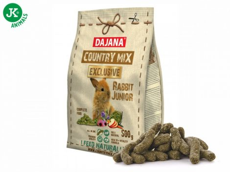 Dajana – COUNTRY MIX EXCLUSIVE,  junior nyúltáp 500 g