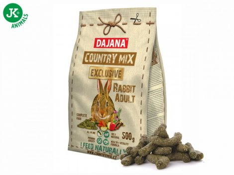 Dajana – COUNTRY MIX EXCLUSIVE, Adult nyúl eledel 500g