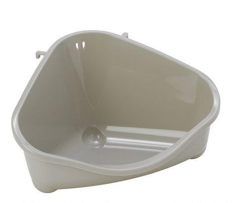 Moderna sarok WC medium/homokszín