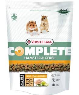Versele-Laga Complete Hamster & Gerbil  - Teljesértékű extrudált eleség hörcsögök és futóegerek részére (500g)
