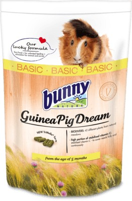 bunnyNature GuineaPigDream BASIC 750g tengerimalac eledel