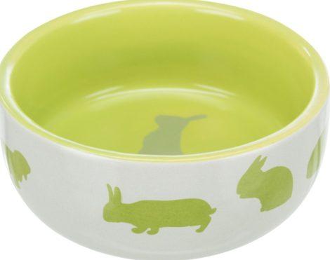 Trixie etetőtál 250 ml szürke/zöld