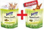 bunnyNature Nature Shuttle Rabbit 600g átszoktató eledel + AJÁNDÉK RabbitDream BASIC 750g nyúl eledel