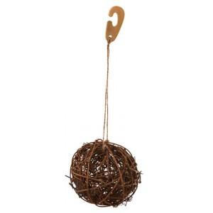 Fűz labda rágcsálóknak, 9 cm