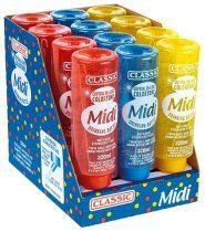 Classic de Luxe itató, 320 ml, piros, kék, sárga
