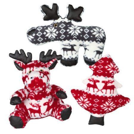 Karácsonyi mintás plüss játék / Trixie