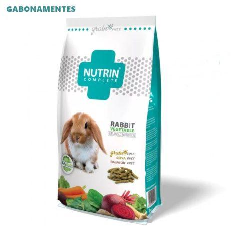 Nutrin Complete Nyúleledel Gabonamentes Zöldséges 1,5 kg